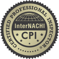 Professional home inspector certfied by the International Association of Certified Home Inspectors (InterNACHI).